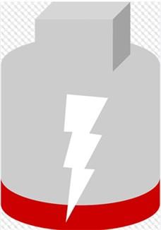 Motorradbatterie laden
