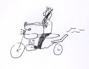 Handyhalterung für das Motorrad