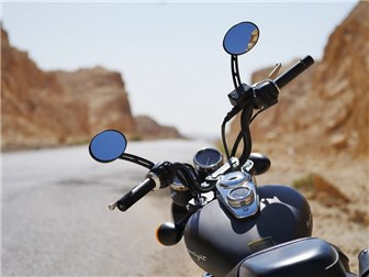 Motorradfahren bei Hitze